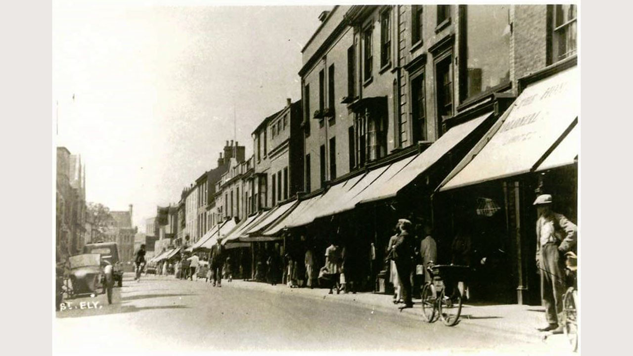 High Street Ely Cambridgeshire Then And Now Sneak